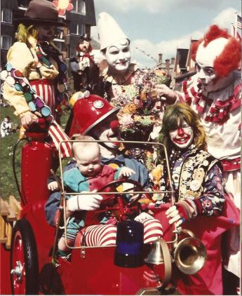 Image result for pics surreal clown show